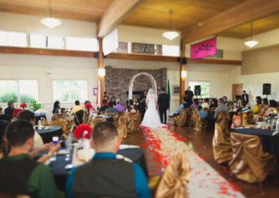 The Mt. Rainier room is popular for weddings, family celebrations, and public events.