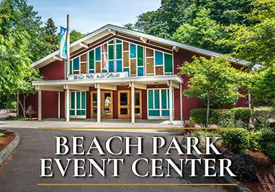 Beach Park Event Rental Facilities