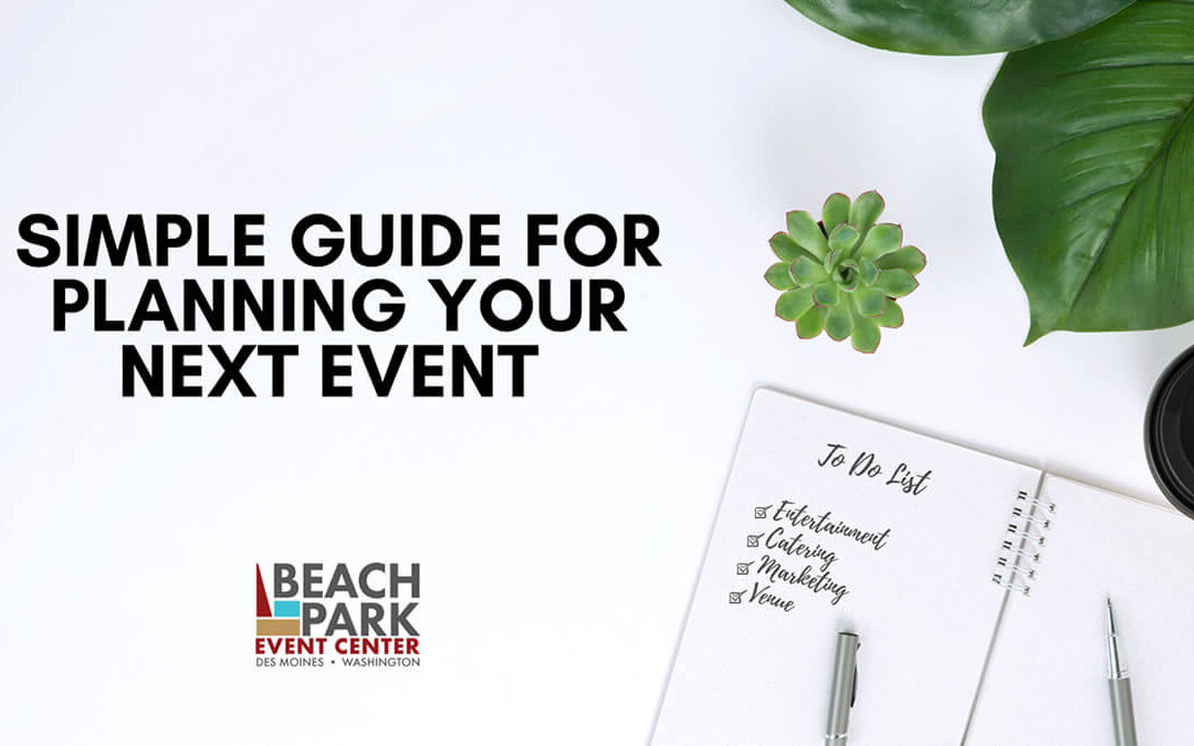 12 Step Guide to Planning Managing Company Events