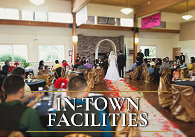 In-Town Facilities Beach Park Event Rental Facilities